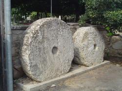 Ancient mill stones in Gavalohori