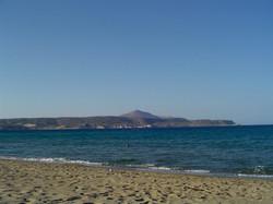 Kalyves town beach