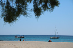 Beach at Fragokastello