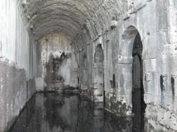 Roman water cisterns at Aptera
