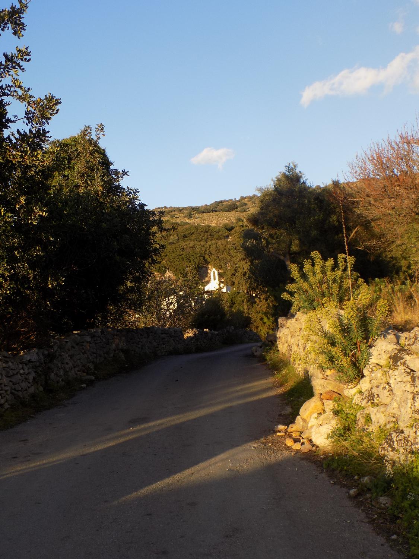 Lane leading to the Venetian wells