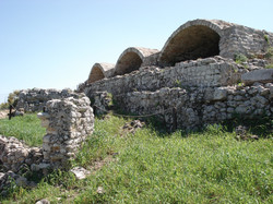 Roman cisterns at Aptera