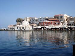 Venetian harbourside in Chania