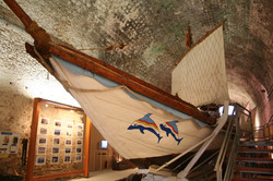 Reconstructed Greek trireme