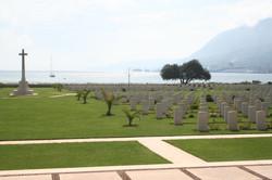 Allied WW2 cemetery at Souda
