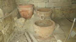 Minoan wine press