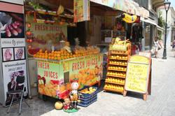 Anyone for fresh orange juice?