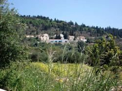 Villa from the village