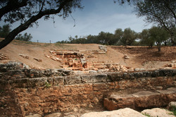 Newly unearthed amphitheatre