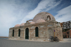 Mosque on Chania harbour