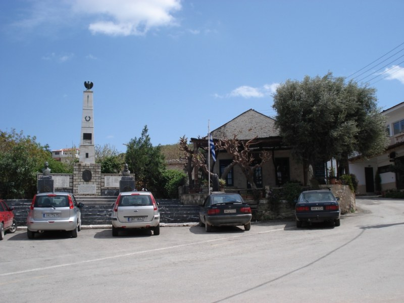 Main square - and taverna