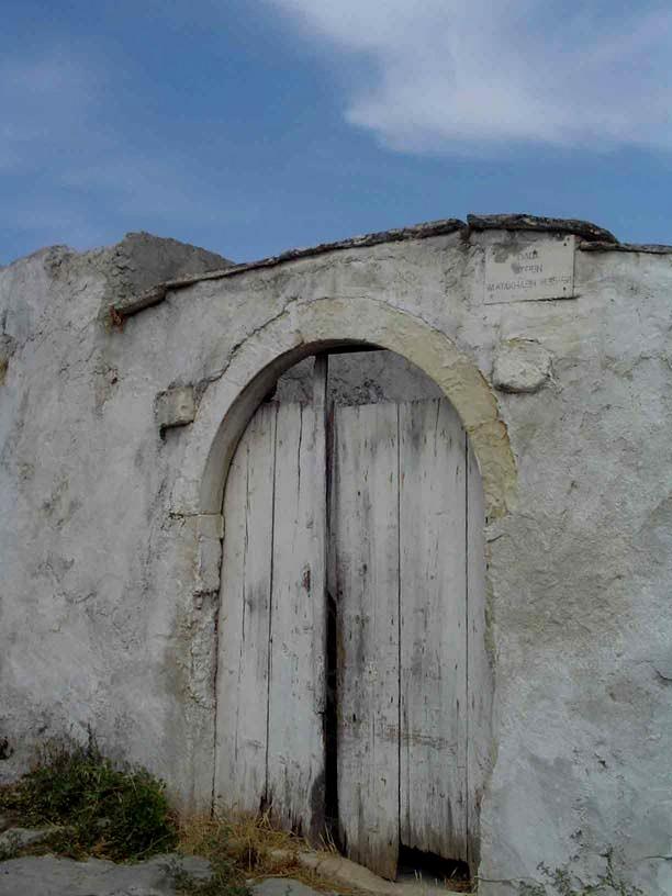 Typical doorway