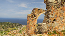 Ancient ruins ransacked by pirates