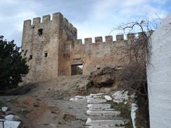 Turkish castle at Frangokastello