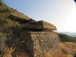 German gun emplacements