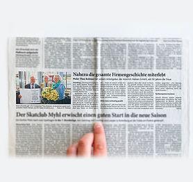 Heinsberger Zeitung, Firmengeschichte, Mitarbeiter, Malerbetrieb in Heinsberg