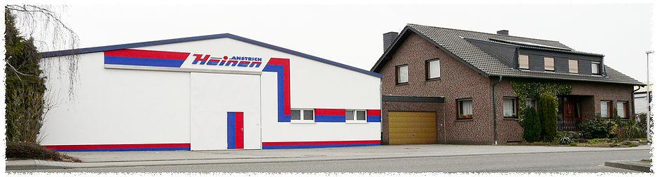Büro und Halle vom Malerbetrieb Anstrich Heinen, Otto-hahn-Str. 15-17 in 52525 Heinsberg