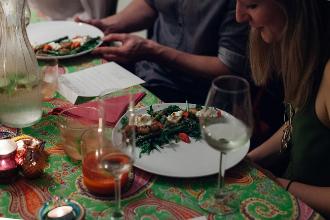 8 Plates Supperclub: A Seasonal Summer Feast with a Touch of Spice!