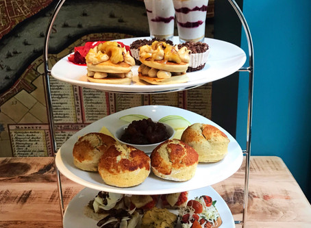 Vegan Cheese Afternoon Tea at The Georgian House