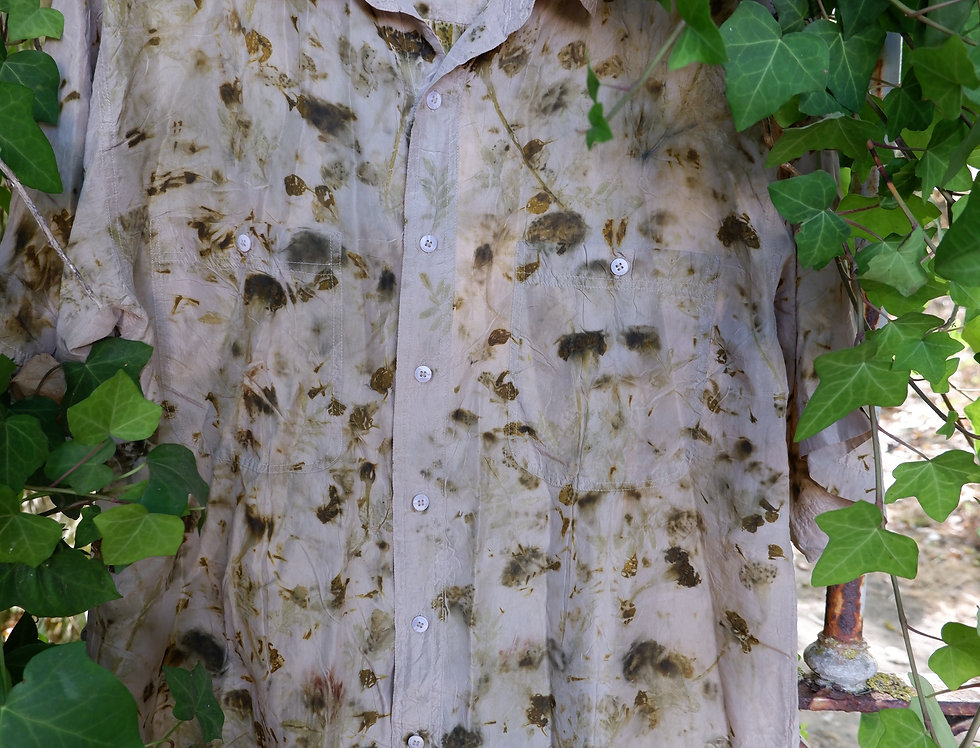 Vintage Silk Button Down