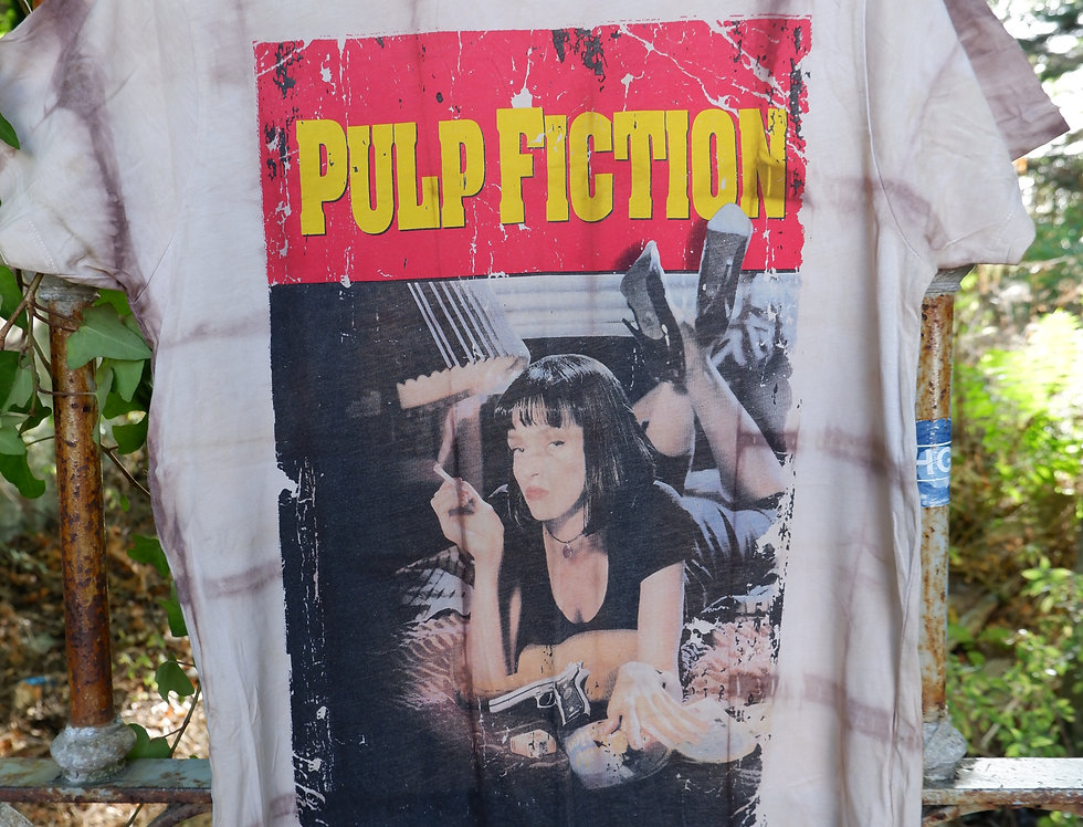 Upcycled Pulp Fiction T