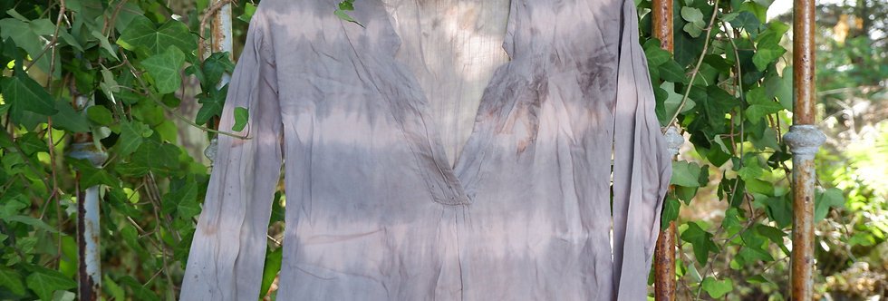 Upcycled Long Sleeve Shirt - Quebracho