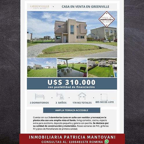 Greenville | USD 310.000