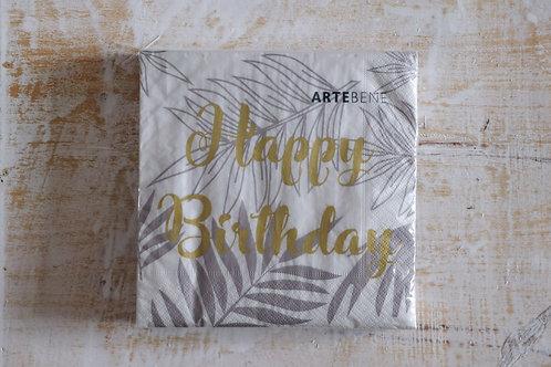 """Servietten """"Happy Birthday"""""""