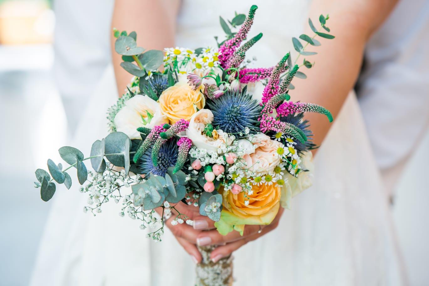 Hochzeits-Floristik