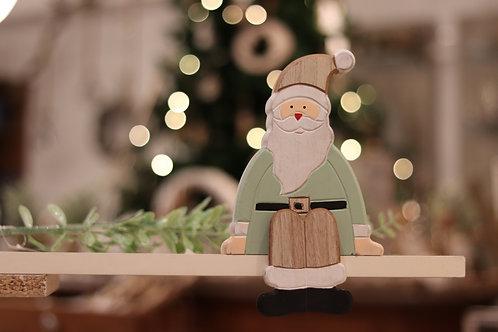 Weihnachtsmann aus Holz