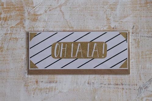 """Karte """"OH LA LA"""""""