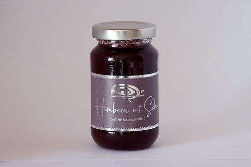 Himbeer mit Schuss  - Marmeladenkreation