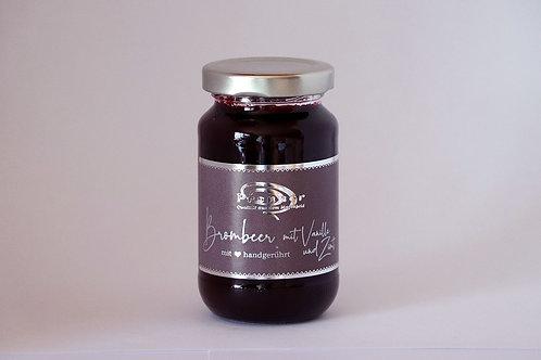 Brombeer mit Vanille und Zimt - Marmeladenkreation
