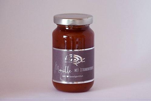 Marille mit Zitronenverbene  - Marmeladenkreation
