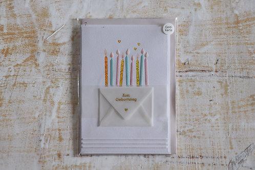 """Karte """"Zum Geburtstag"""""""