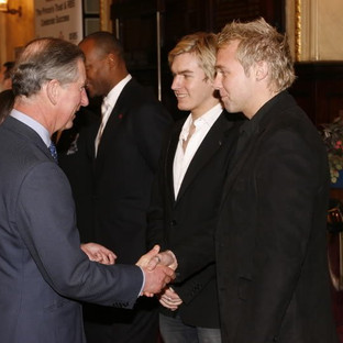 Meeting HRH The Price Of Wales