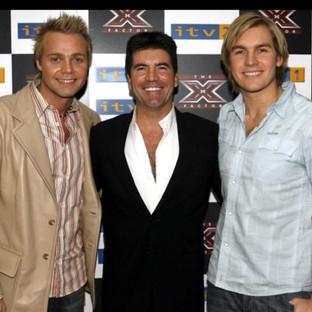 Andy, Carl & Simon Cowell