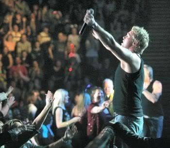 Andy X Factor Tour
