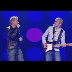 Performing on the X Factor
