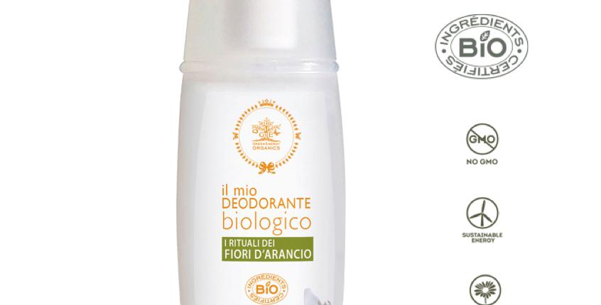 DEODORANTE BIOLOGICO•FIORI D'ARANCIO-100ML