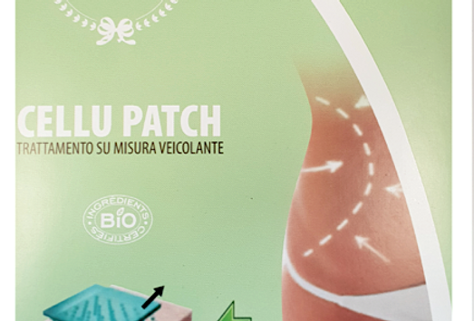 CELLU PATCH TRATTAMENTO CELLULITE
