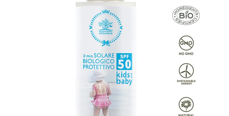 PRIMA PROTEZIONE SOLARE BIMBI 50 SPF