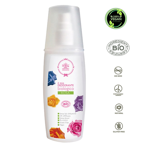 DEODORANTE BIOLOGICO • BOUQUET DI ROSE