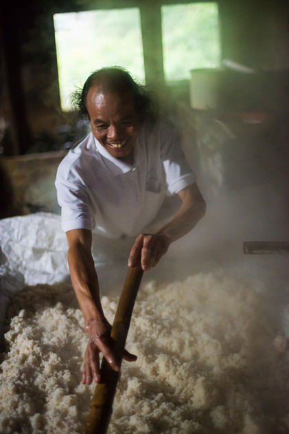 Producing Rice Wine