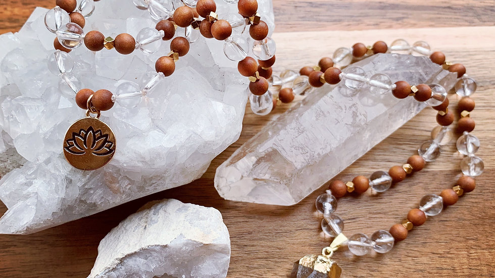 Clearly Divine Mala