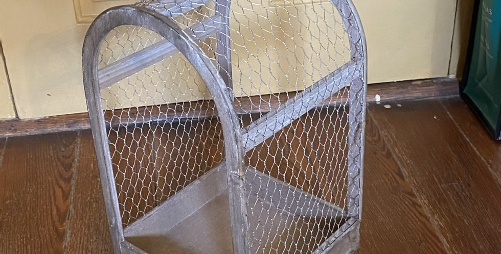 Large Chicken Wire Plant Cage