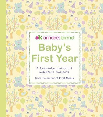 Baby's First Year journal