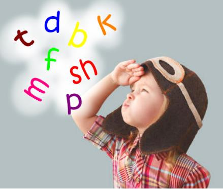 Child with letters