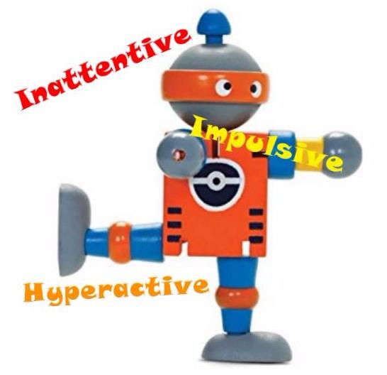 Inattentive, Impulsive, Hyperactive