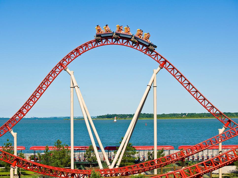 Rollercoaster peak